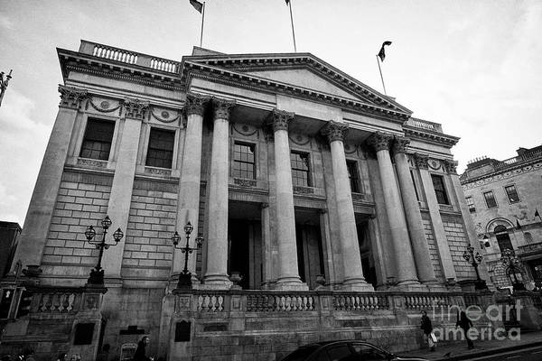 Wall Art - Photograph - Dublin City Hall Originally The Royal Exchange Dublin Republic Of Ireland Europe by Joe Fox