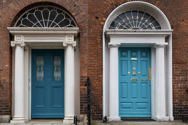Photograph - Dublin Double Blue by Georgia Fowler
