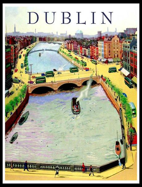 Capitol Digital Art - Dublin by Long Shot