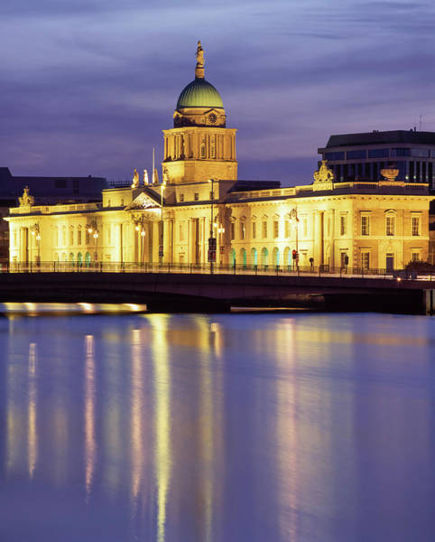Wall Art - Photograph - Dublin,co Dublin,ireland Custom House by The Irish Image Collection