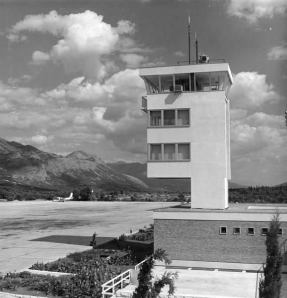 Dubrovnik Photograph - Dubrovnik Airport by L V Clark