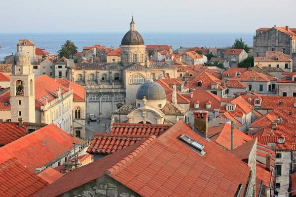 Dubrovnik Photograph - Dubrovnik Church by Alex E. Proimos