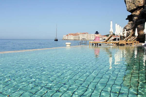 Luxury Yacht Photograph - Dubrovnik In Dalmatia, Croatia by Davidcallan