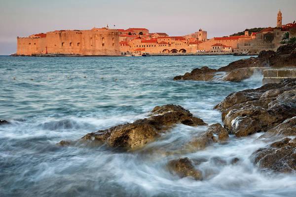 Dubrovnik Photograph - Dubrovnik Old Town, Croatia, At Dawn by Michael Roberts