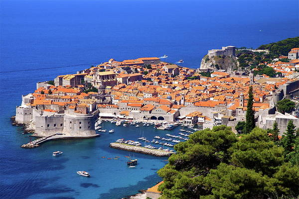 Townscape Photograph - Dubrovnik by Una Coralic Photography