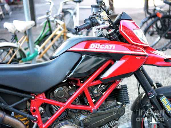 Photograph - Ducati Monster 1100 Evo Florence by John Rizzuto