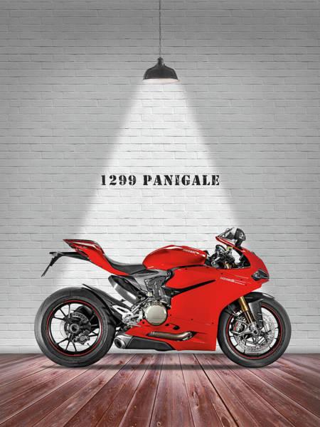 Ducati Bike Photograph - Ducati Panigale by Mark Rogan