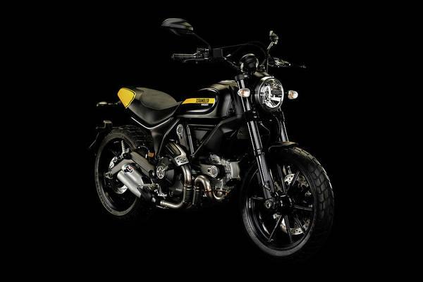 Wall Art - Mixed Media - Ducati Scrambler by Smart Aviation