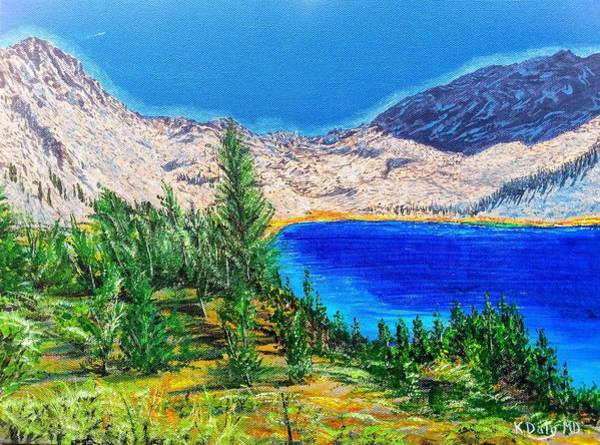 Painting - Duck Pass by Kevin Daly