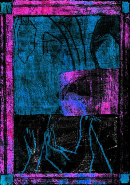 Digital Art - Duck Pond Purple Seasonals 4aed4 by Artist Dot