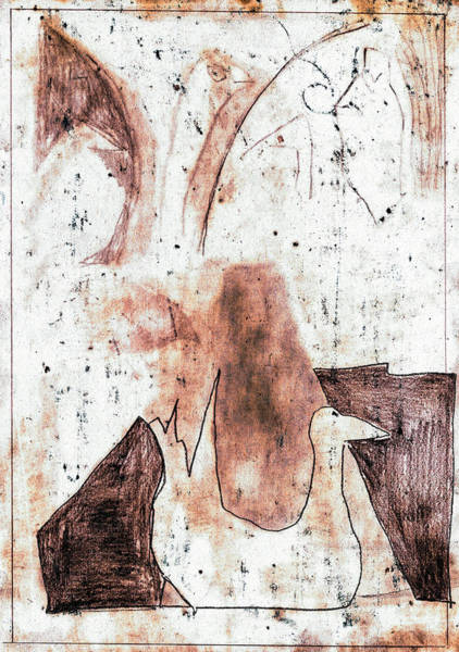 Digital Art - Duck Pond Seasonals 2bed2 by Artist Dot