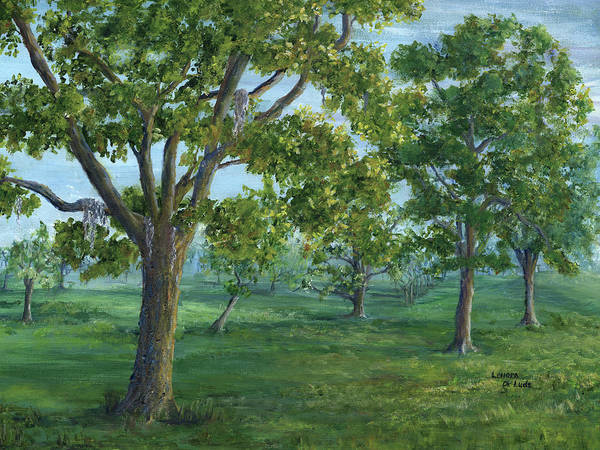 Painting - Dueling Grounds New Orleans Louisiana by Lenora De Lude
