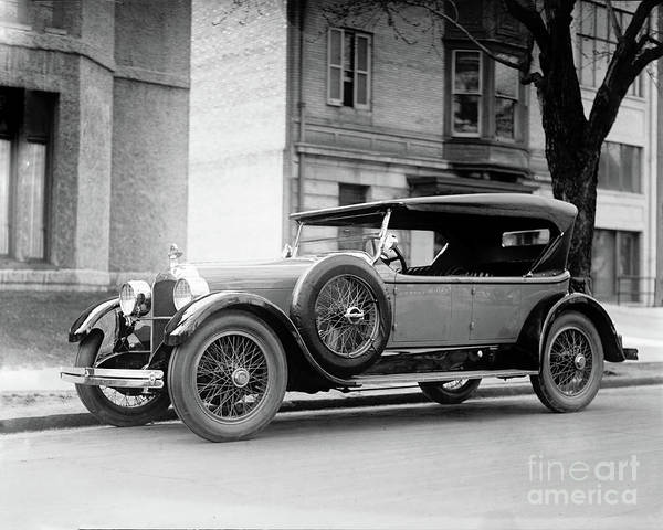 Photograph - Duesenberg 1923 by Carlos Diaz