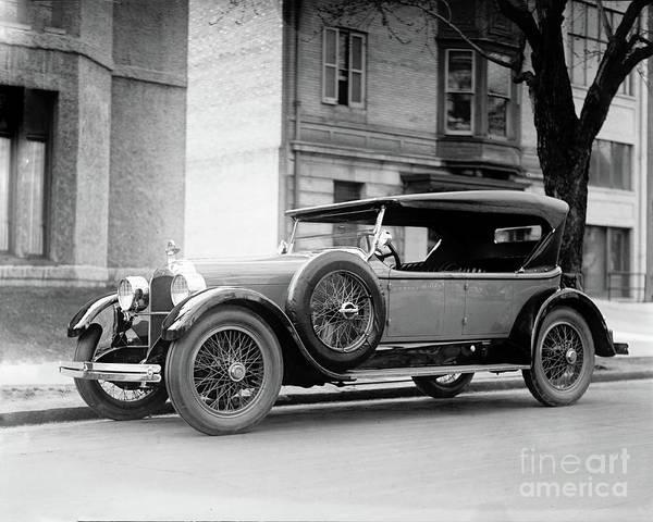 Photograph - Duesenberg Antique Car 1923 by Carlos Diaz