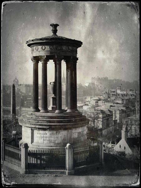 Wall Art - Photograph - Dugald Stewart Monument by Dave Bowman