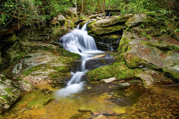 Wall Art - Photograph - Duggers Creek Cascade by Norma Brandsberg