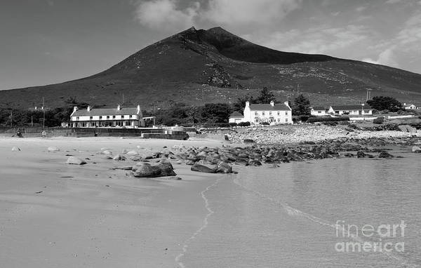 Photograph - Dugort Beach Mono by Peter Skelton