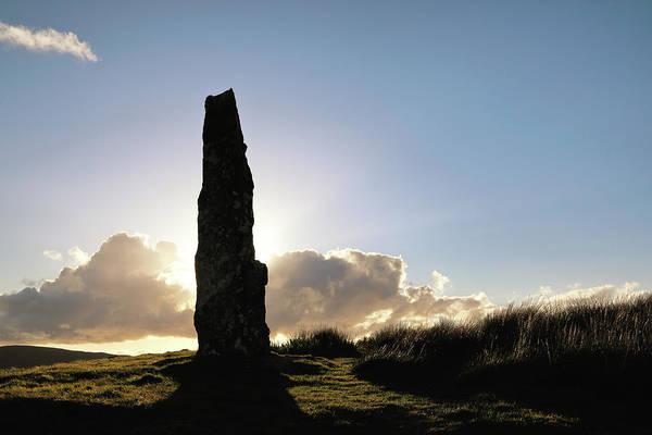 Photograph - Duirinish Stone by Nicholas Blackwell