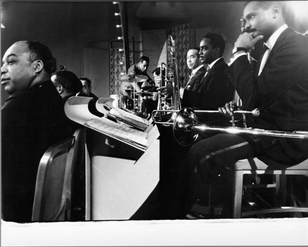 Composer Photograph - Duke Ellington Orchestra by Ted Williams