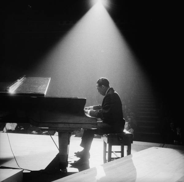 Piano Photograph - Duke In The Spotlight by John Pratt