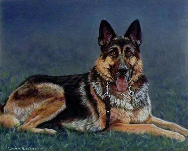 Painting - Duke by Linda Becker