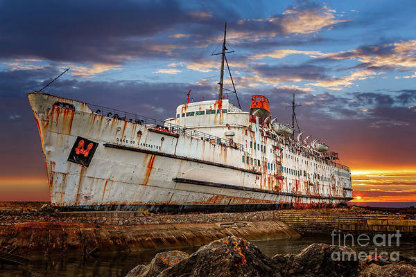 Photograph - Duke Of Lancaster Ship by Adrian Evans