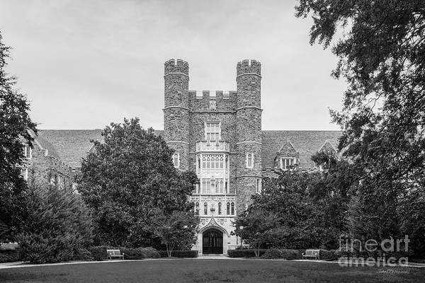 Photograph - Duke University Davison Building by University Icons