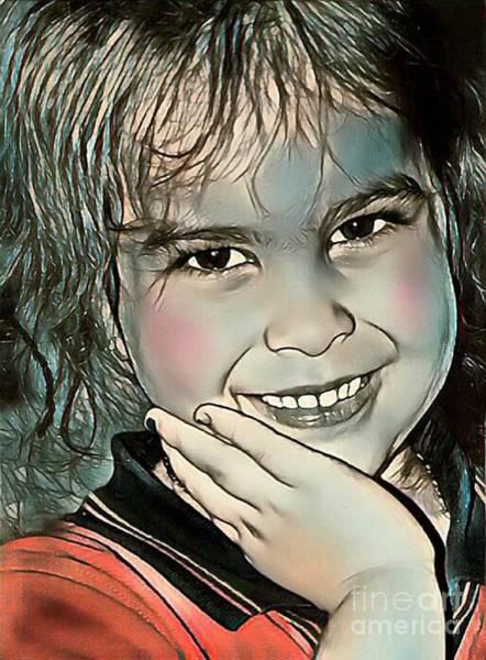 Sonrisa Wall Art - Digital Art - Dulzura by Sonia Morera