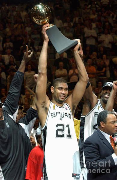Photograph - Duncan Raises Trophy by Jesse D. Garrabrant