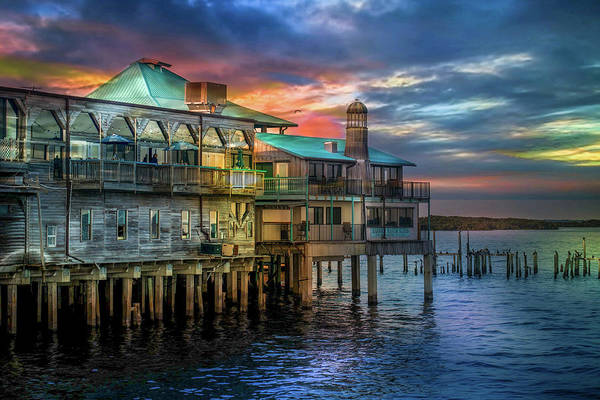 Cedar Key Photograph - Duncan's On The Gulf Of Mexico  by Louis Ferreira