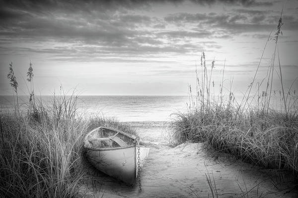 Wall Art - Photograph - Dune Black And White by Debra and Dave Vanderlaan