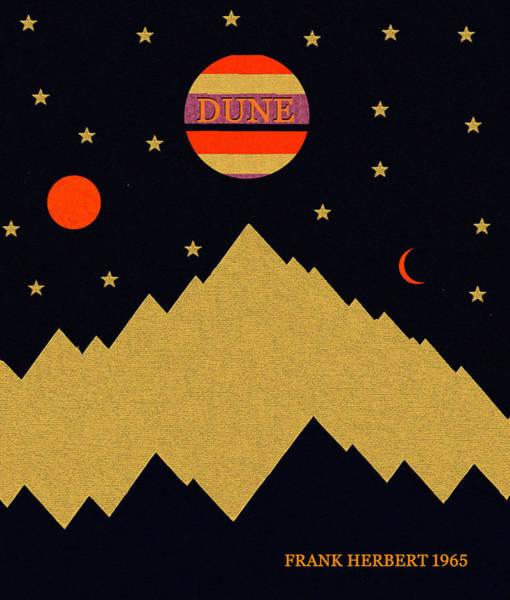 Wall Art - Digital Art - Dune Minimal Artwork by David Lee Thompson