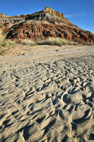 Photograph - Dunes And Ripples Near San Rafael Swell by Ray Mathis