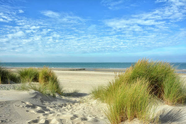 Holland Wall Art - Photograph - Dunes-day In October by Joachim G Pinkawa