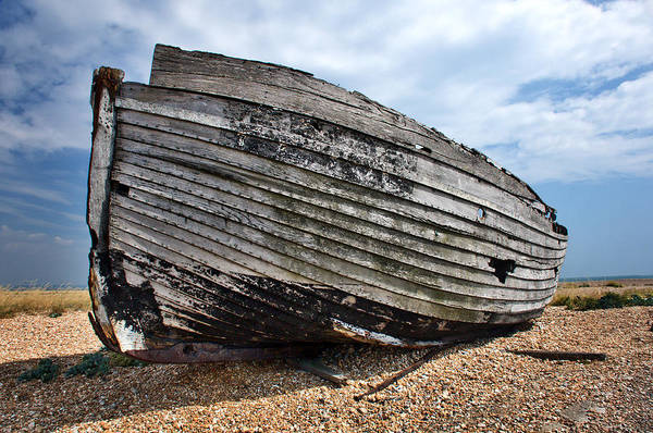 Photograph - Dungeness Boat 2 by David Resnikoff