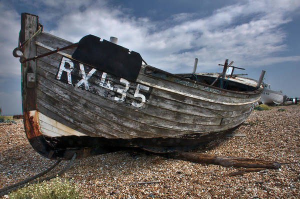 Photograph - Dungeness Boat 4 by David Resnikoff