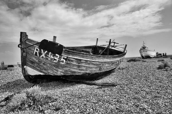 Photograph - Dungeness Boats by David Resnikoff