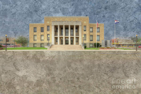 Wall Art - Digital Art - Dunklin County Missouri  by Larry Braun