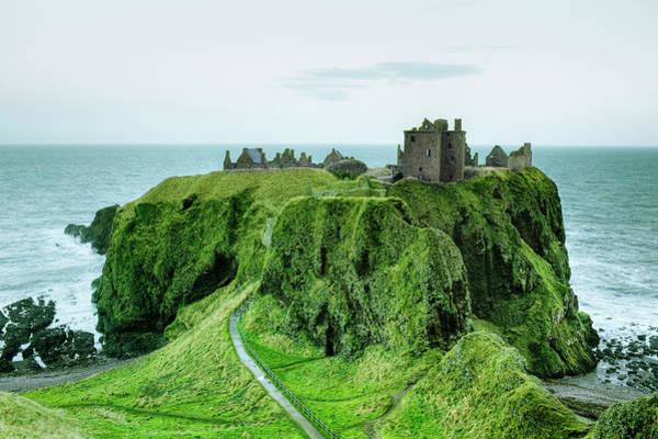 Photograph - Dunnottar Castle, Close To Aberdeen by Silvia Otte