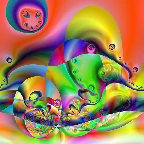 Digital Art - Duodention by Andrew Kotlinski