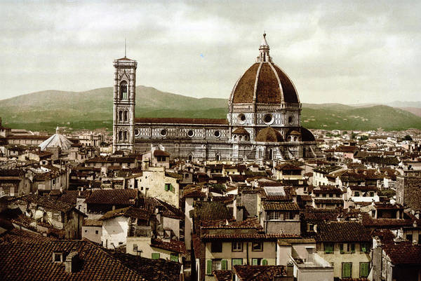 Wall Art - Photograph - Duomo Cathedral, Panoramic View by Uig