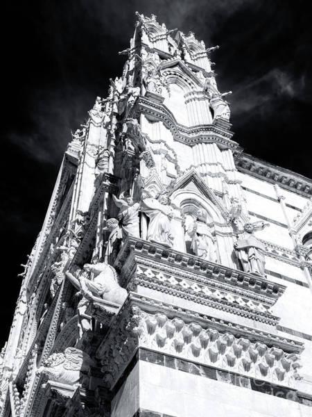 Photograph - Duomo Di Siena Sculptures by John Rizzuto