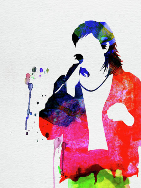 Rock And Roll Mixed Media - Duran Duran Watercolor by Naxart Studio