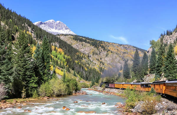 Photograph - Durango Silverton Train by Dawn Richards