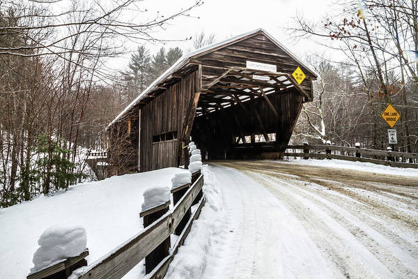 Photograph - Durgin Covered Bridge by Robert Clifford