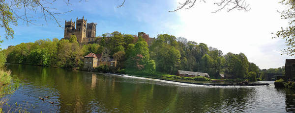 Photograph - Durham Cathedral And River Wear In Spring In Durham, England by Iordanis Pallikaras