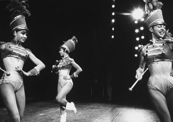 Photograph - During A Broadway Musical Heres Love Ba by John Dominis
