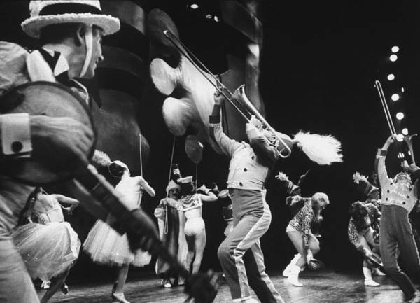 Photograph - During The Broadway Musical Heres Love by John Dominis