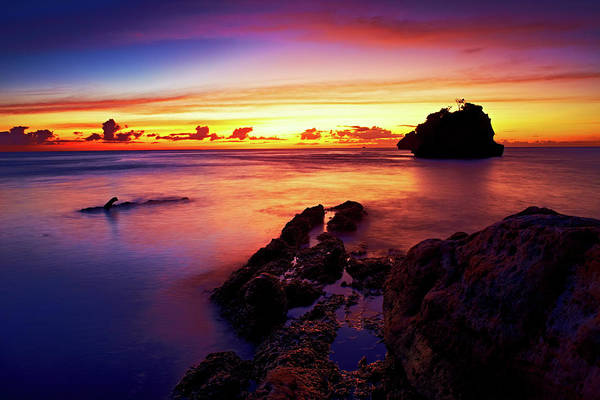Photograph - Dusk, Columbus Bay by Trinidad Dreamscape
