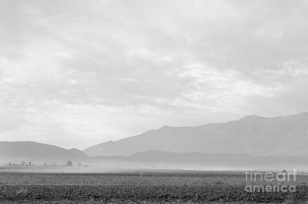 Wall Art - Photograph - Dust Storm Over Manzanar, 1943 by Ansel Adams